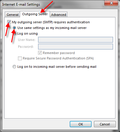 How to set up outlook 2013 without ssl - Office 365 server settings outlook ...